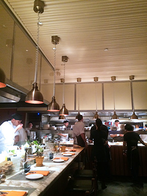 Narcissa kitchen and chef's counter